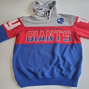RARE New York Giants Hoodie Size Large NFL